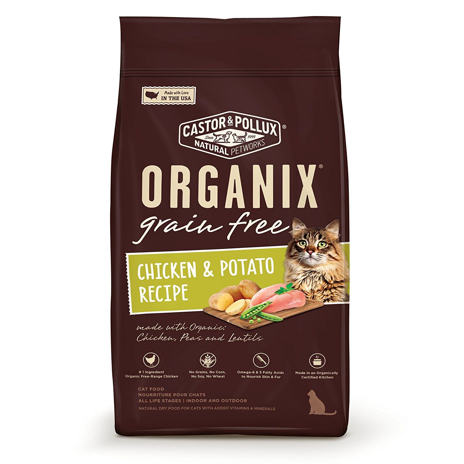 Organix Grain Free Organic Healthy Adult Indoor Cat Food Visit