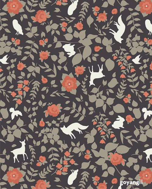 Enjoy Fall And My Woodland Print Patterns Are Free To Use For Personal Use