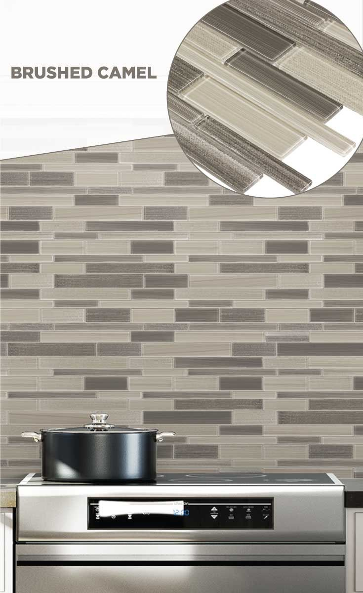 Tile Lowes Mosaics Glassmosaics Backsplash Sb004caml1213