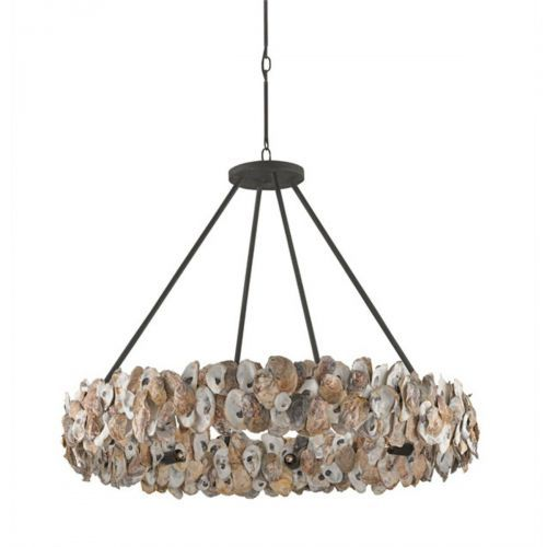 Oyster circle chandelier house lighting pinterest oysters oyster circle chandelier mozeypictures Choice Image