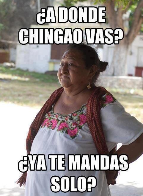 Chingado in english
