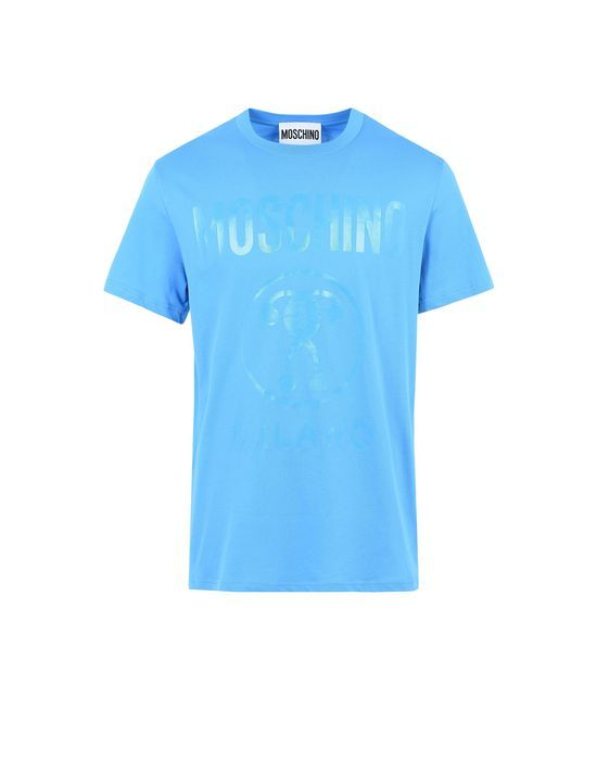 MOSCHINO Short-Sleeve-T-Shirts. #moschino #cloth #short-sleeve-t-shirts