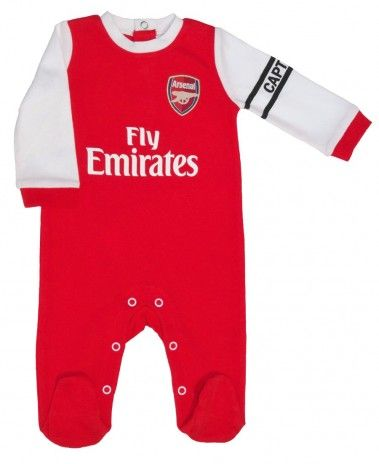 76dc90a33 Arsenal Baby Core Kit Sleepsuit - 2016 17 Season