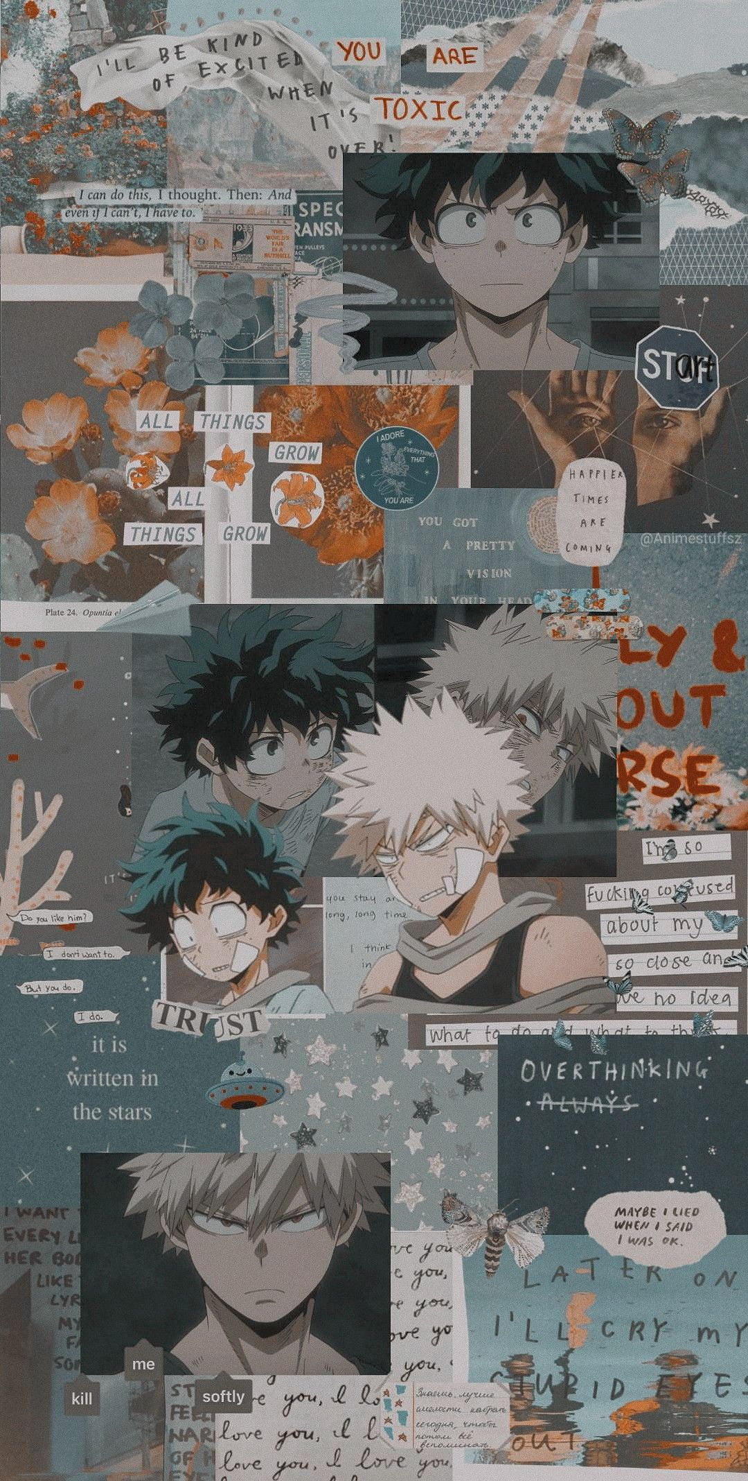 Aesthetic My Hero Academia Wallpaper : aesthetic, academia, wallpaper, Academia, Aesthetic, Anime,, Anime, Wallpaper, Iphone,