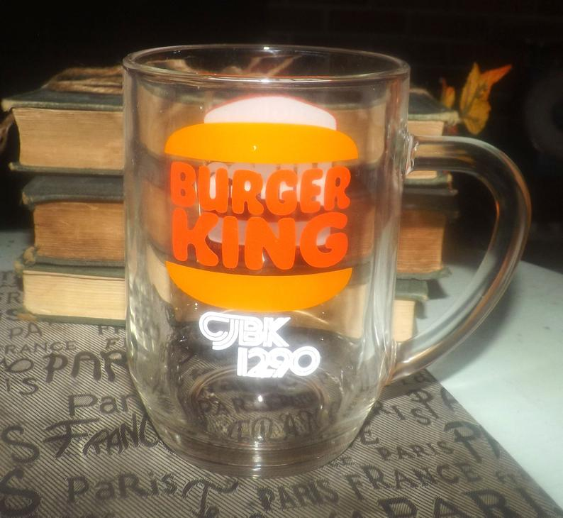 Vintage 1990s Cjbk1290 Hires Root Beer Burger King Glass Etsy Hires Root Beer Root Beer Mugs