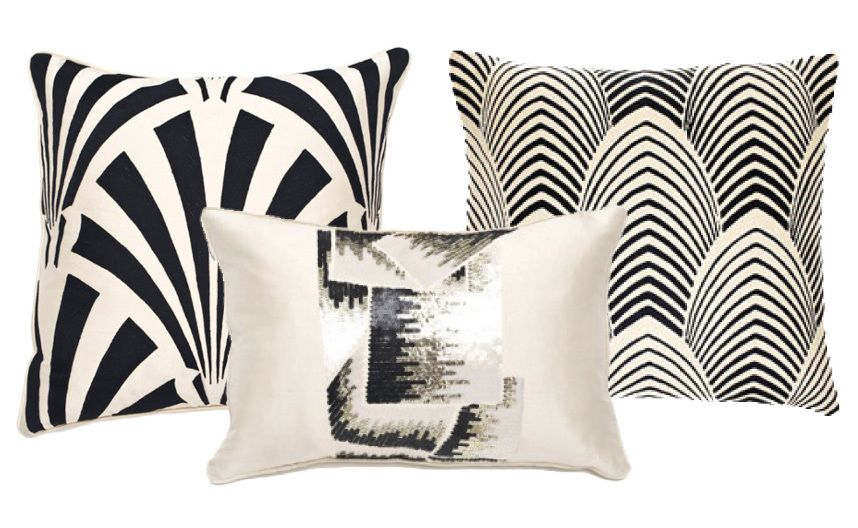 Art Deco Throw Pillows.21 Stunning Art Deco Home Accessories From Katie Anderson Of