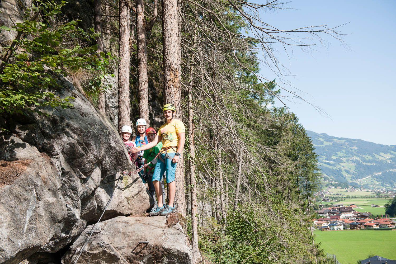 Klettersteig Bregenz : Klettersteig huterlaner in mayrhofen klettern klettersteige im