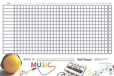 Star Behavior Chart For Kids  Kid Pointz  Music