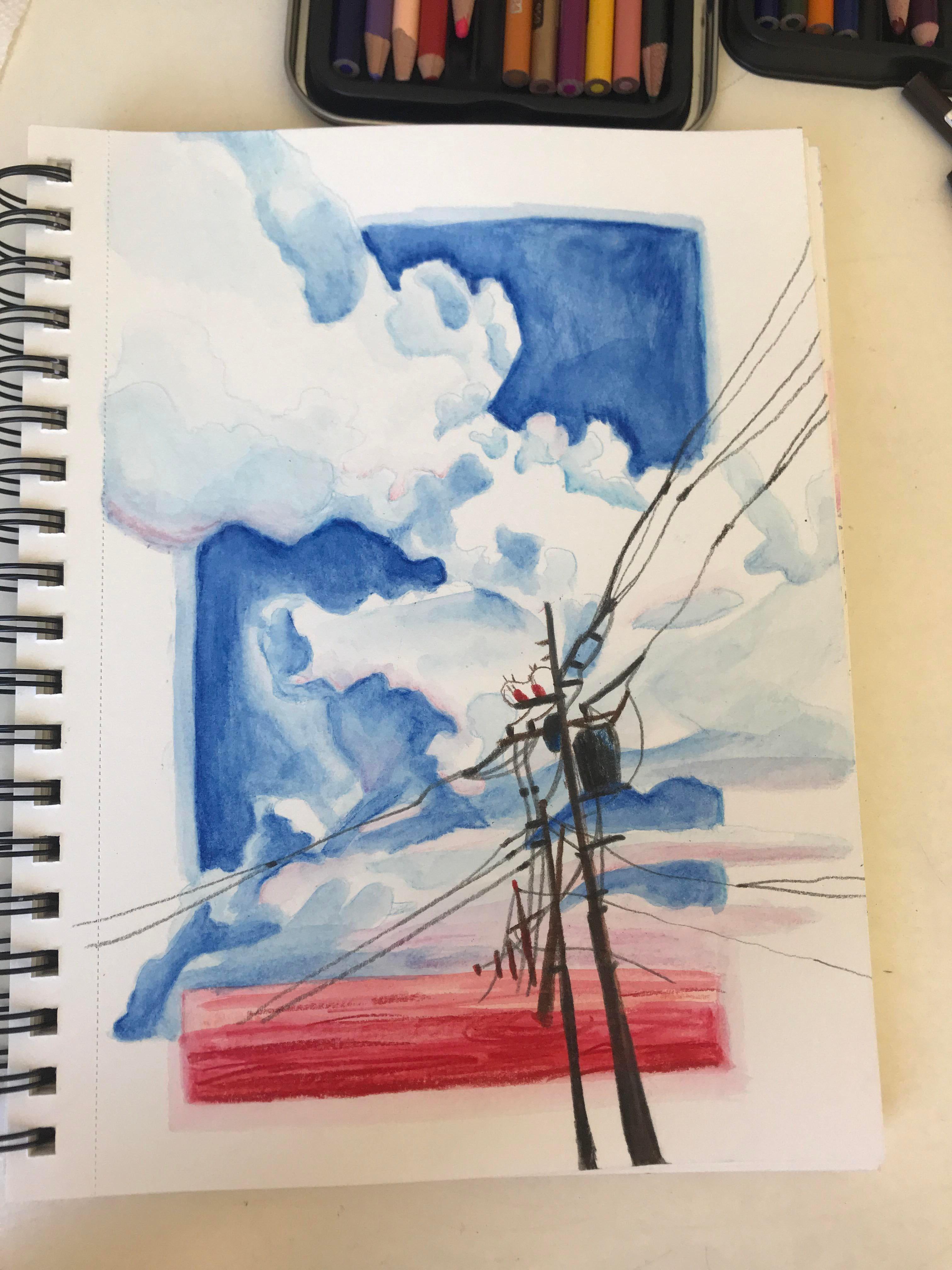 Amp Art Colored Evangelion Fan Pencils Watercolor Evangelion