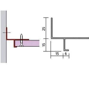 15 x 15 shadow gap plasterboard trim x 3000mm detail pinterest plans maison plafond. Black Bedroom Furniture Sets. Home Design Ideas