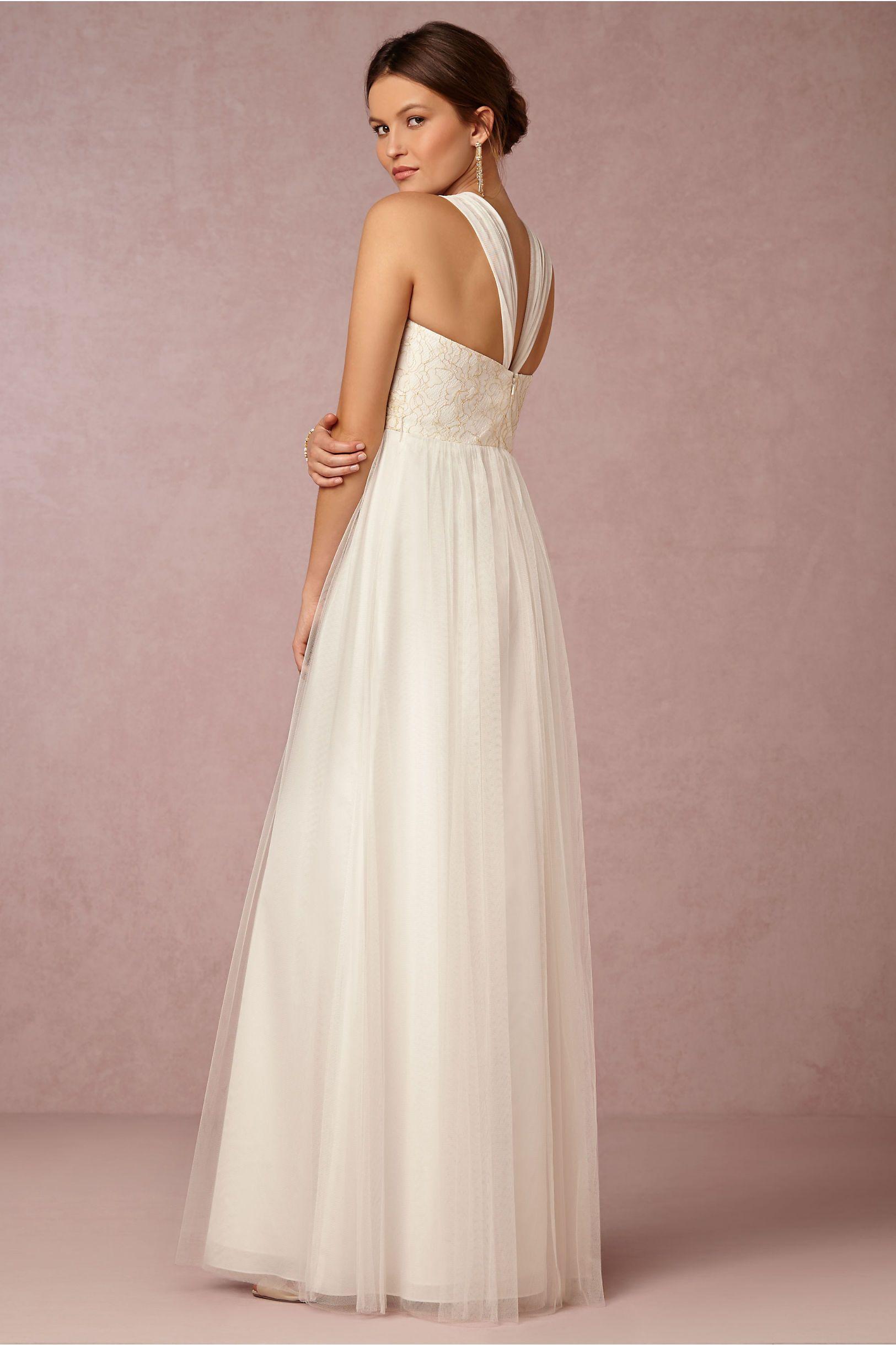 Long wedding reception dresses for the bride  Juliette Dress in Bride Wedding Dresses at BHLDN  Dresspiration
