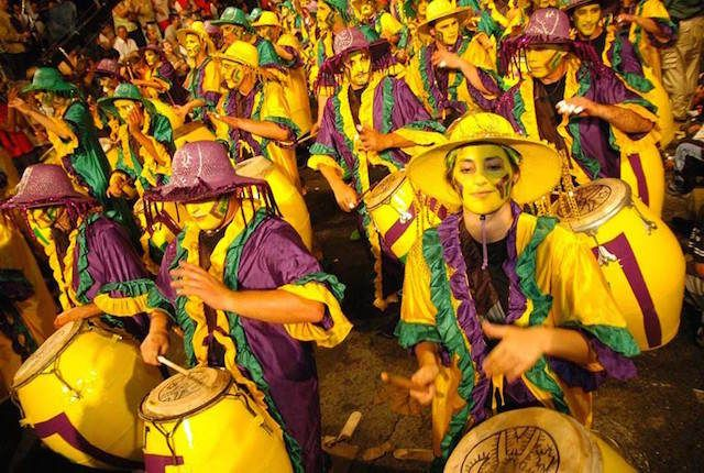 Carnaval in Montevideo is still a big party but more accessible than others around the continent.