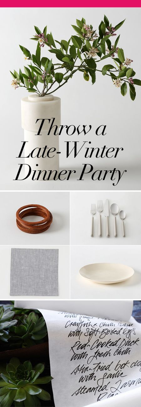 Attractive February Dinner Party Ideas Part - 5: Decor, Cocktails, And Tricks For Supper With Friends · Dinner Party ...