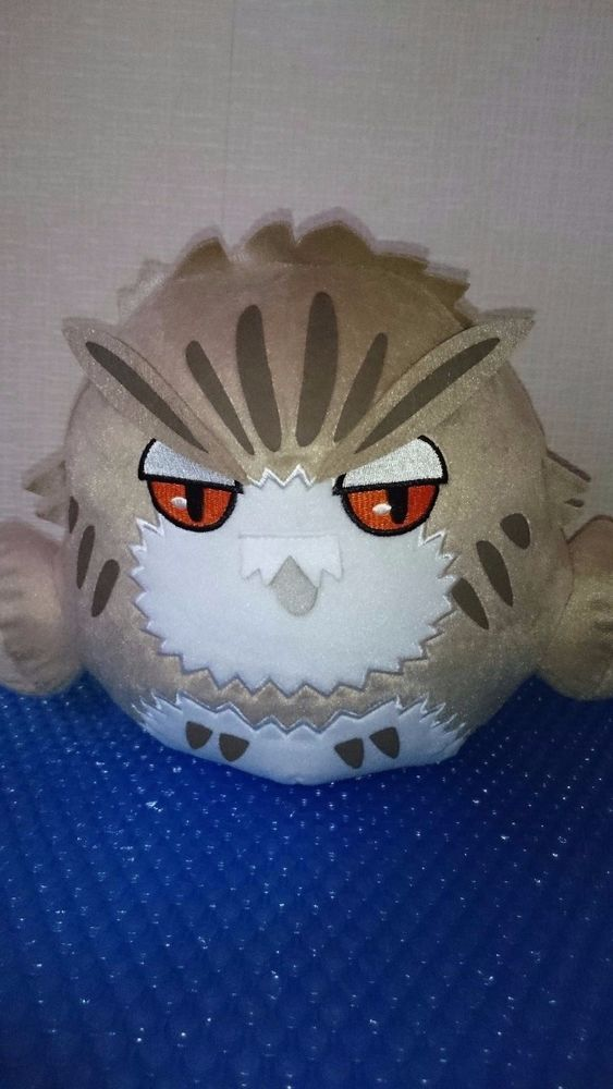 Haikyuu Koutaro Bokuto Owl Big Plush Stuffed Toy 9 5 Japan New