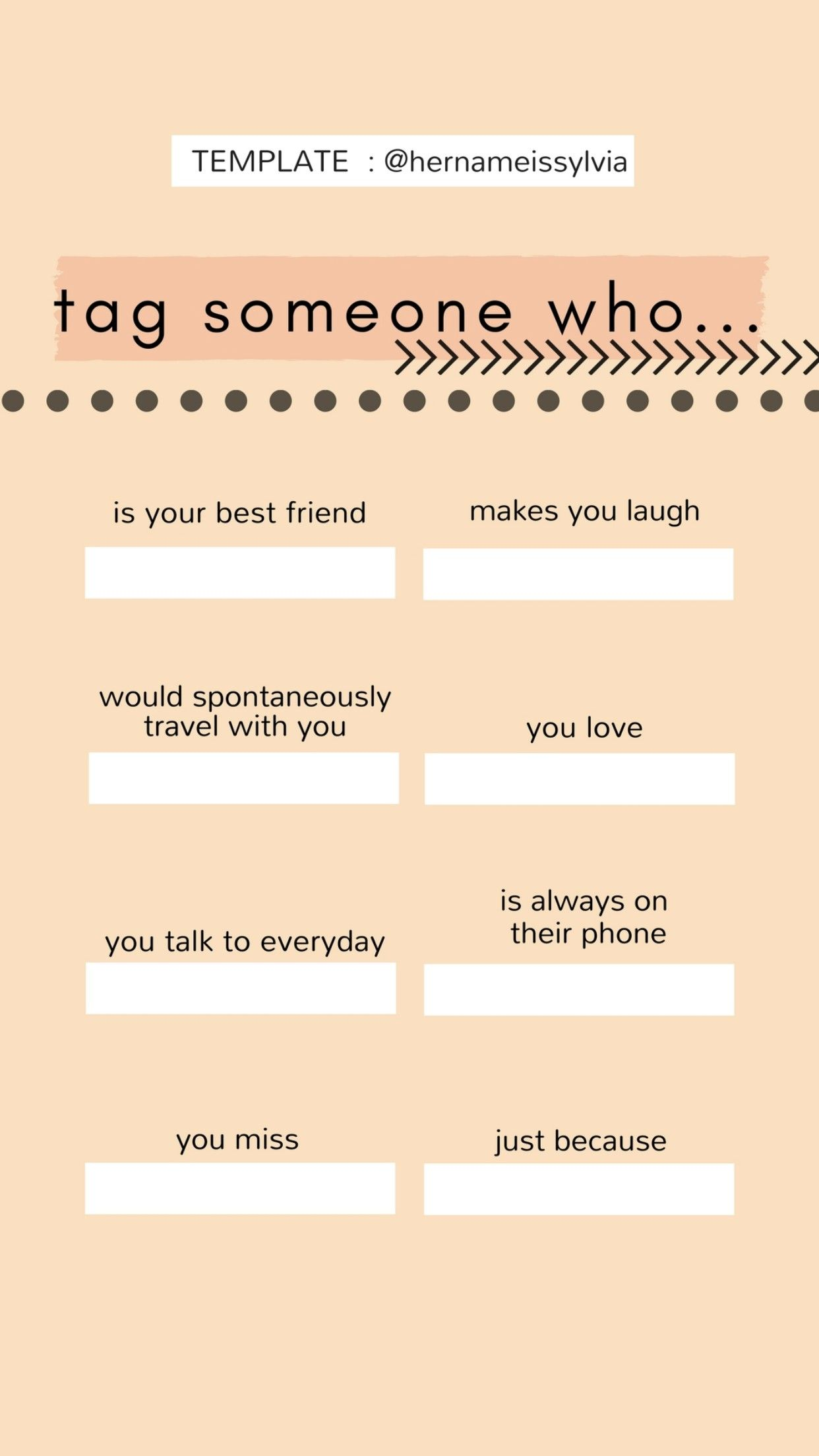 Pin by Kelsi Yarnall on tag list | Instagram story template