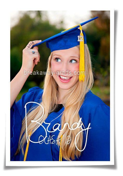 senior photography cap and gown photos | BreakawayGrads-senior ...