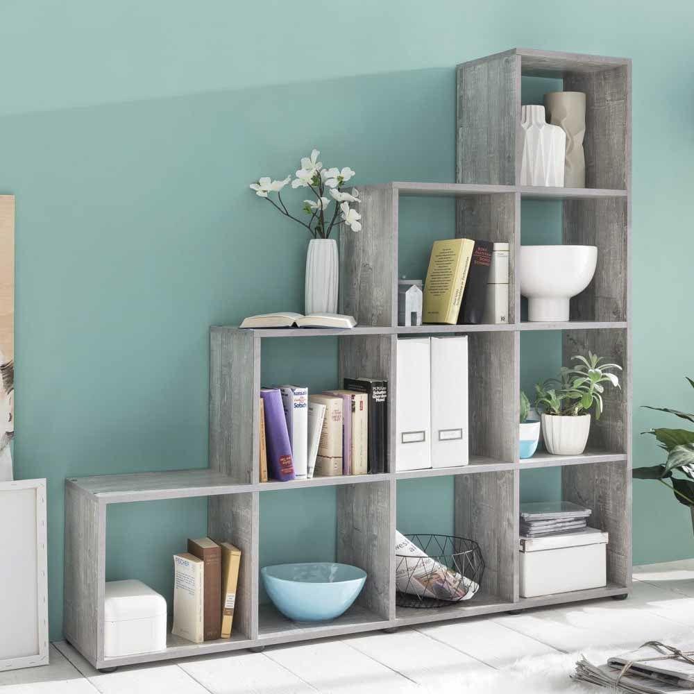 Bucherregal Unter Der Treppe Design Idee: Wohndesign
