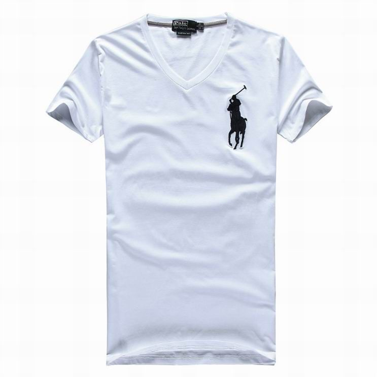 ralph lauren outlet uk Ralph Lauren Men's Big Pony V-Neck Short Sleeve T-