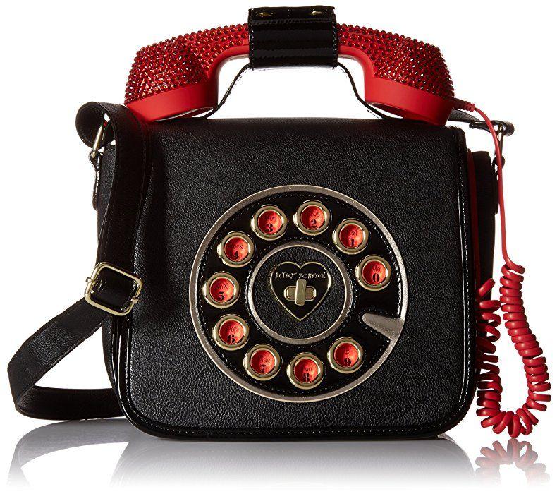 Betsey Johnson Phone Bag Cross Body Handbag 77b22fc6fce7f