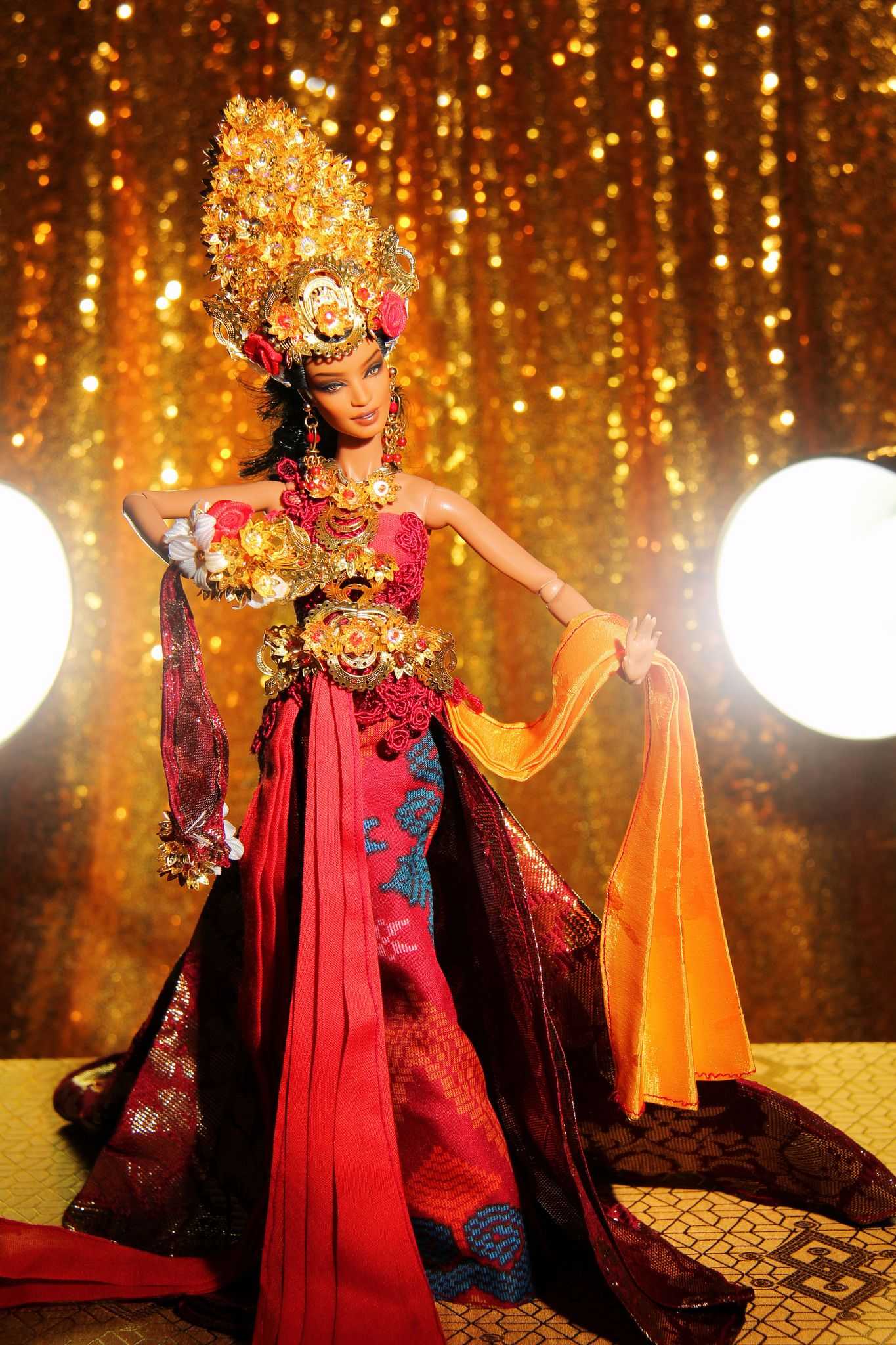 Miss BEauty Doll Indonesia 2016 National Costume in 2020
