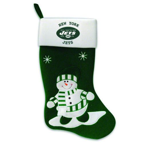 Nfl New York Jets Snowman Stocking Ditch The Boring Red