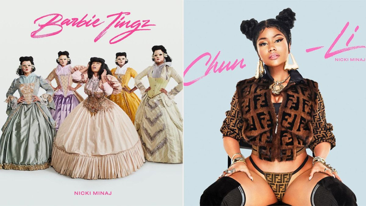 NICKI MINAJ DROPS TWO MUSIC VIDEOS, 'BARBIE TINGZ,' 'CHUN-LI
