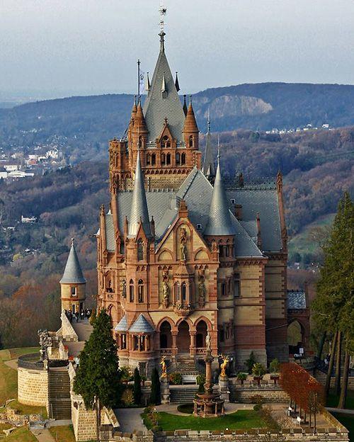 Schloss Drachenburg (Drachenburg Castle) Königswinter on the Rhine near Bonn Germany
