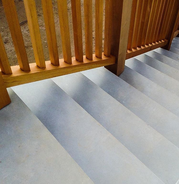 GFRC/GRC Precast Stair Treads with Acid etched finish ...