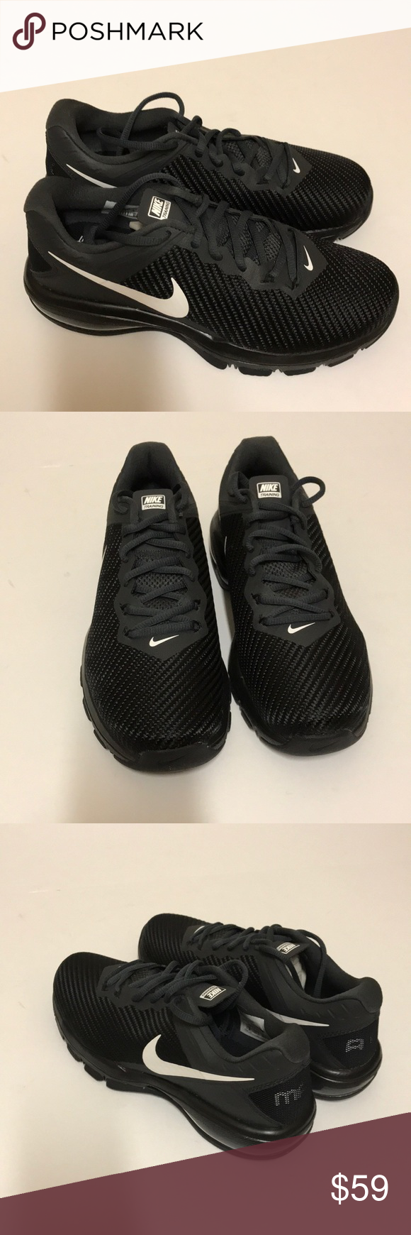 Nike Air Max Full Ride TR 1.5 Size 6 Black White New In Box