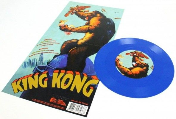 Limited Edition King Kong 7 Inch Blue Vinyl Soundtrack King Kong Blue Vinyl Vinyl