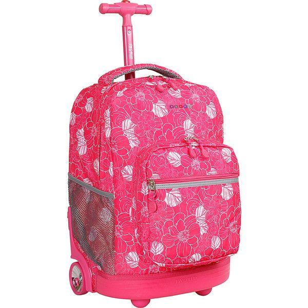 J World New York Sunrise Rolling Backpack (170 SAR) ❤ liked on ...