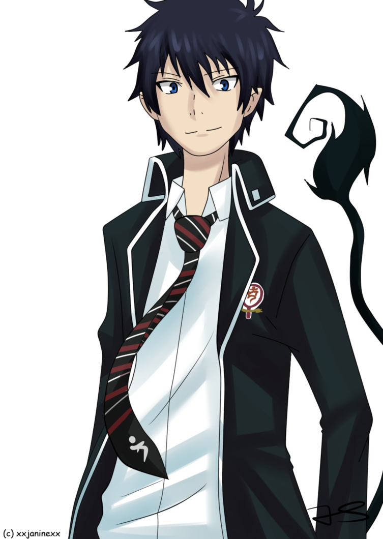 Rin Okumura from Ao No Exorcist Ao no exorcist, Rin