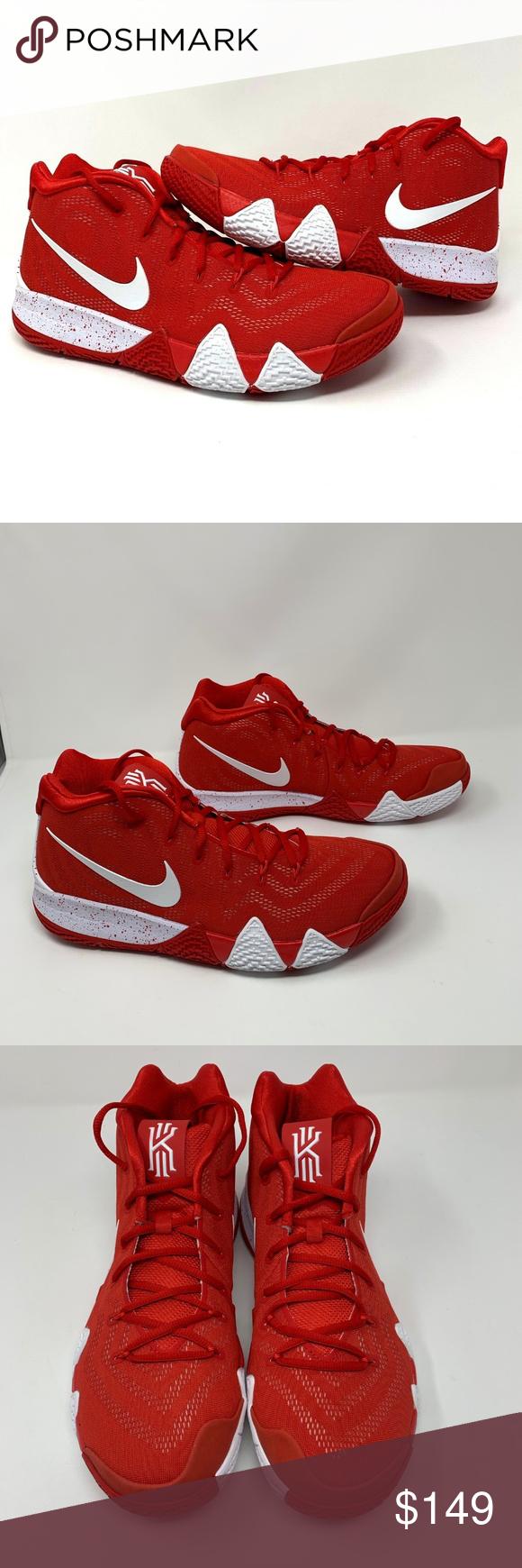 kyrie 4 team red
