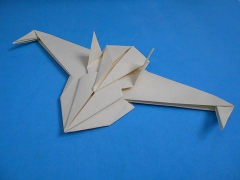 f 35 paper airplane instructions