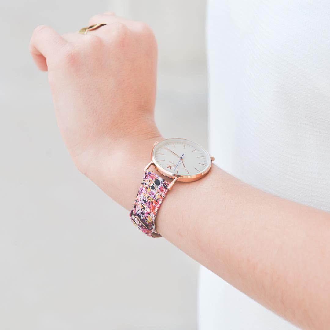 Notre modèle buci avec son bracelet astral charliewatch charlie