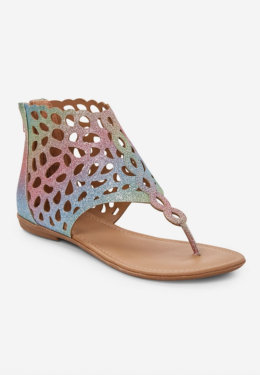 cb37eb29f2df Mermaid Zip-Up Sandals
