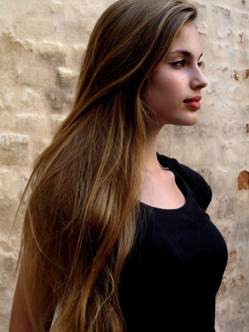 Light Brown Hair A Shade Lighter Then This Hair
