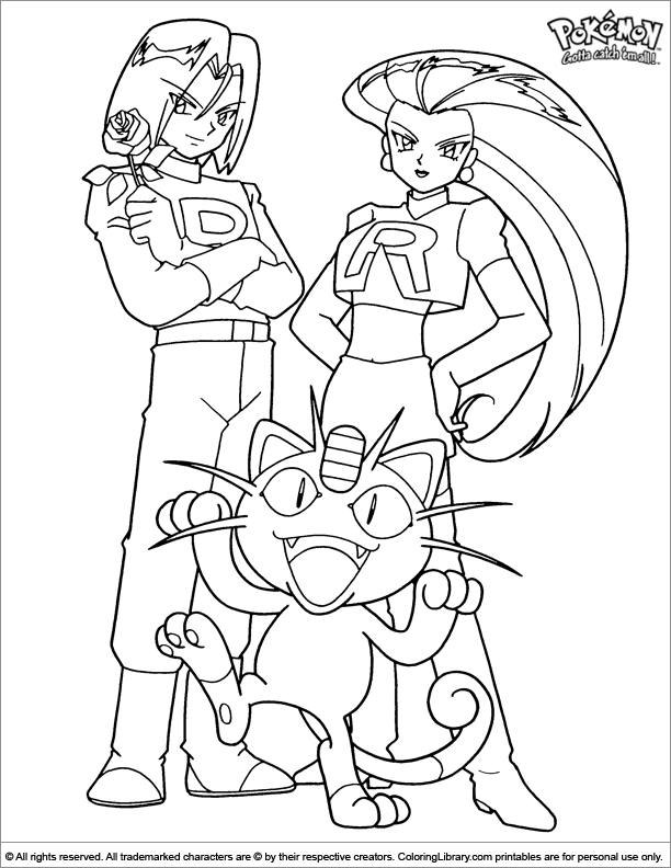 Pokemon coloring page | my personal adult-ish coloring book ...