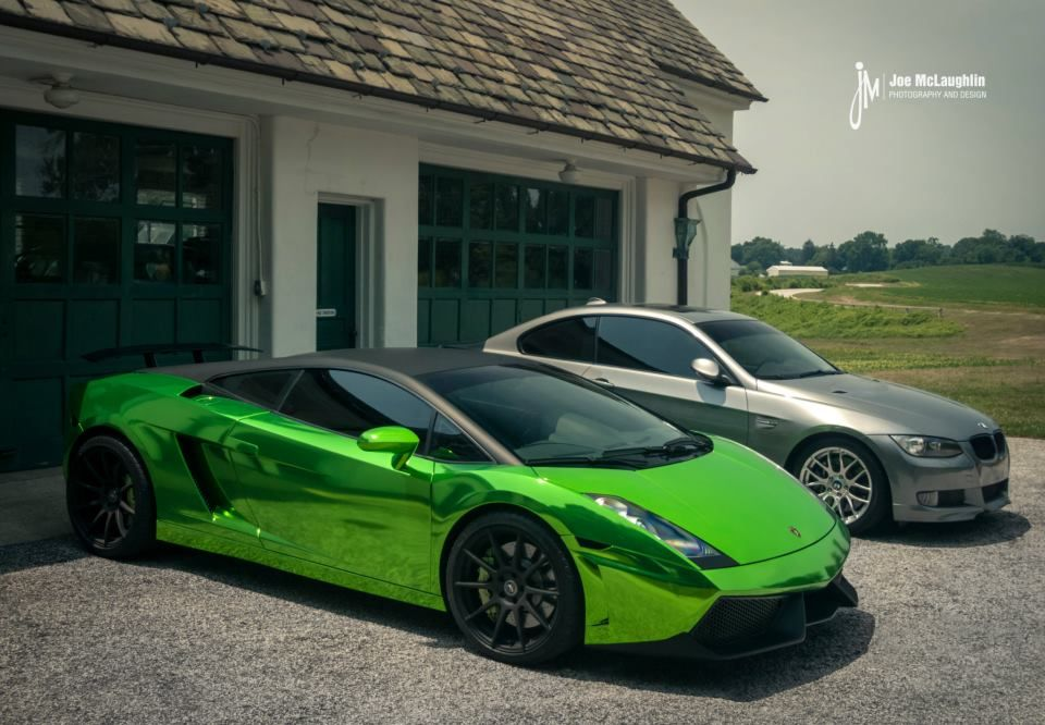 Green Chrome Lamborghini Gallardo_8 (960×666)