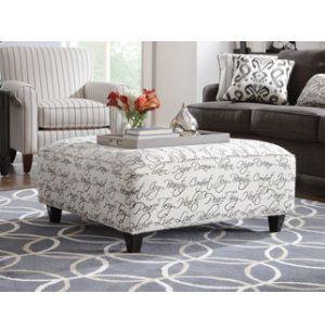 Yardley Cocktail Ottoman | Fabric Furniture Sets | Living Rooms | Art Van  Furniture   Michiganu0027s Furniture Leader
