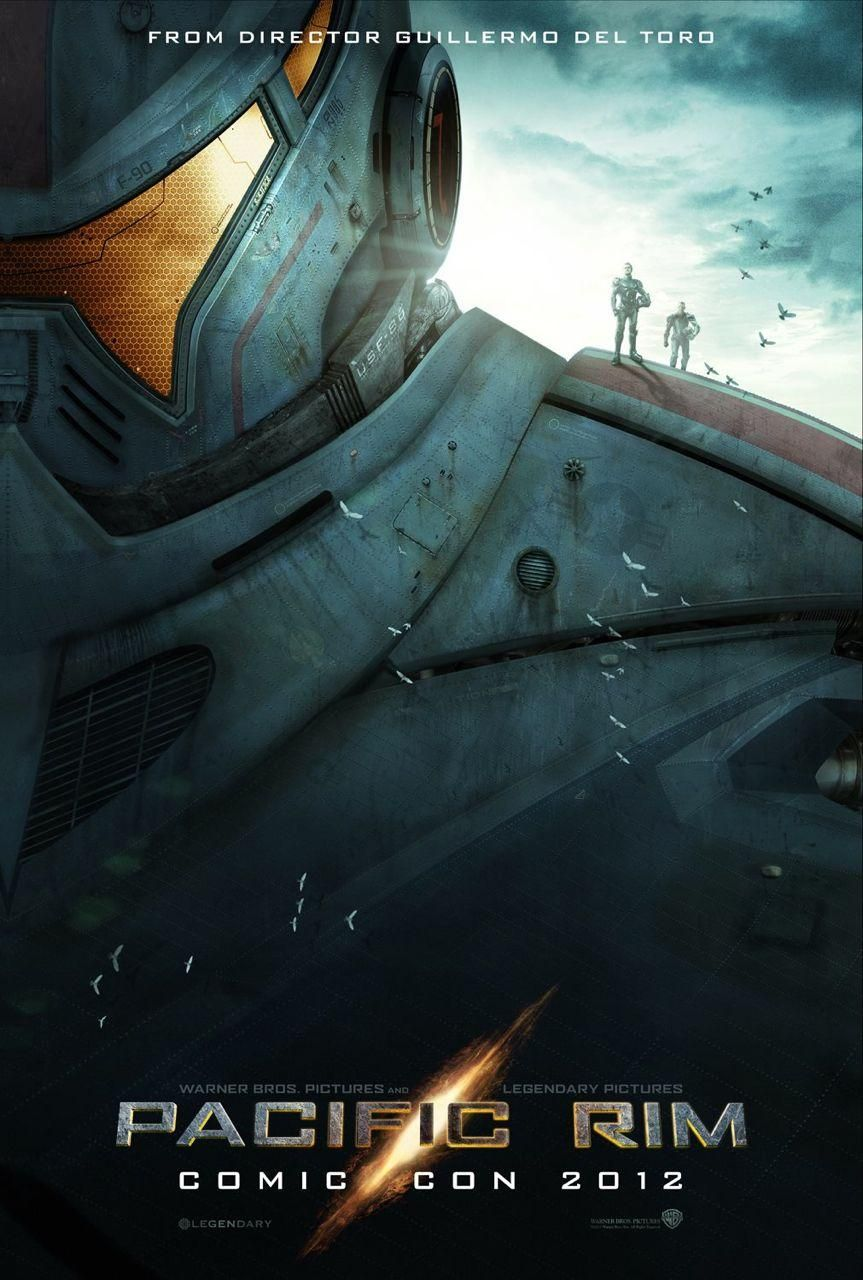 Pacific Rim // One of the coolest posters at San Diego Comic-Con 2012. The film hits theaters next summer.