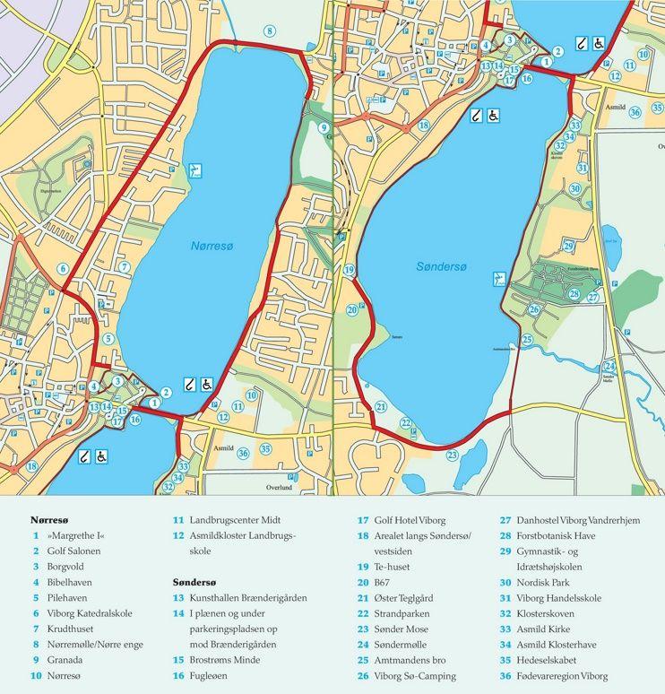 viborg city center map » ..:: Edi Maps ::.. | Full HD Maps