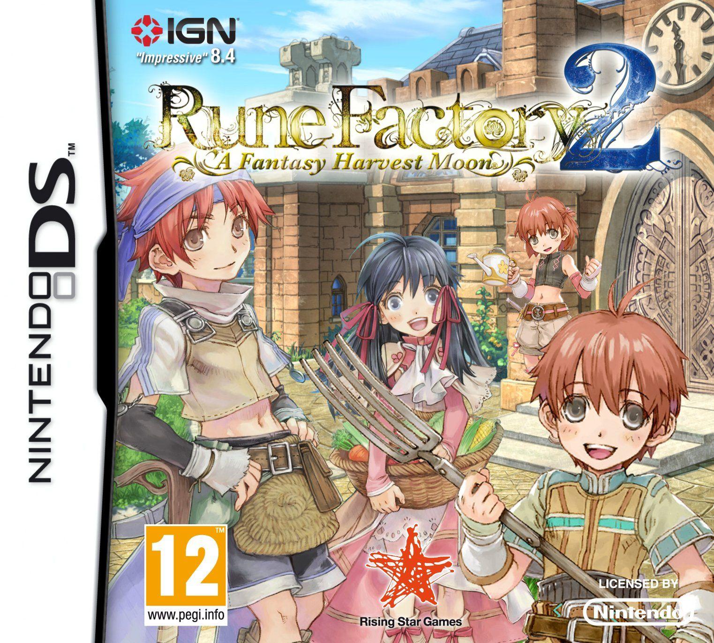RUNE FACTORY 4 3DS ESPAÑOL AMAZON