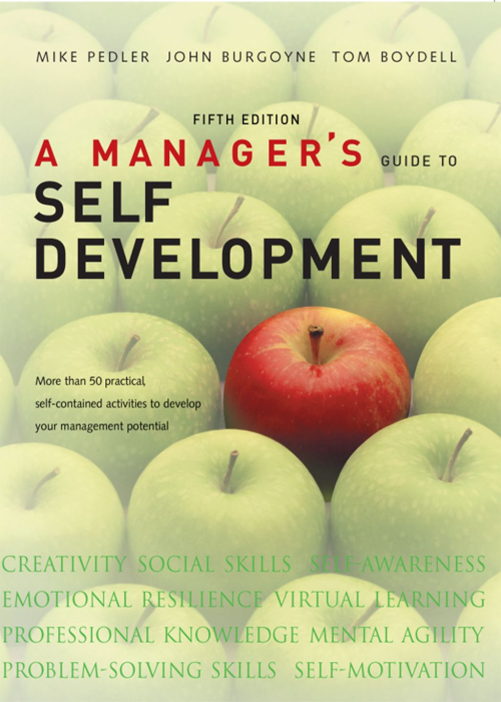 A Manager S Guide To Self Development Ebook