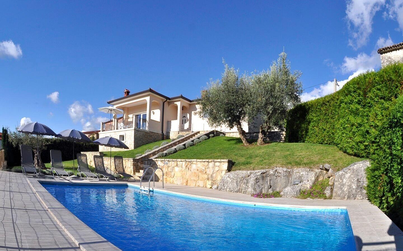 Villa Tatjana, Ferienhaus mit Pool in Vizinada, Istrien