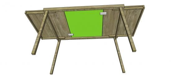 Free DIY Furniture Plans To Build A Inspired Expandable Pocket Dining Table