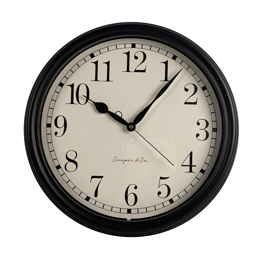 Cooper Cohomewares 40cm Antique Style Vera Wall Clock Reviews Temple Webster In 2020 Clock Wall Clock Wall Clock Online