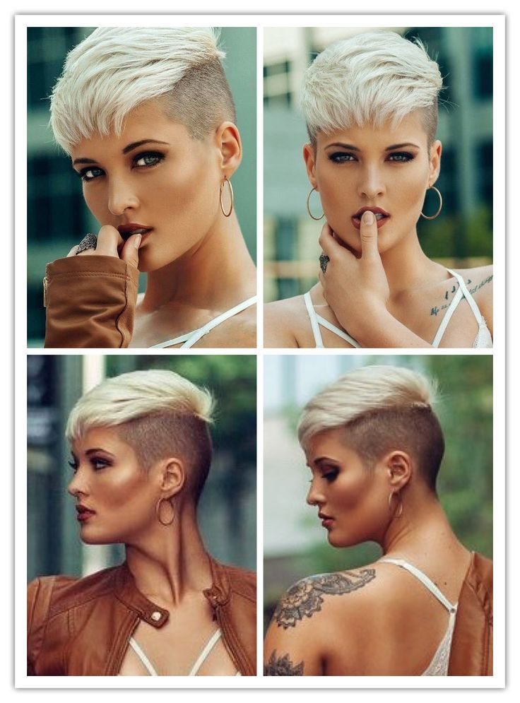 Cute Hairstyle Ideas for Long Face | Hinterschnitt Pixie ...