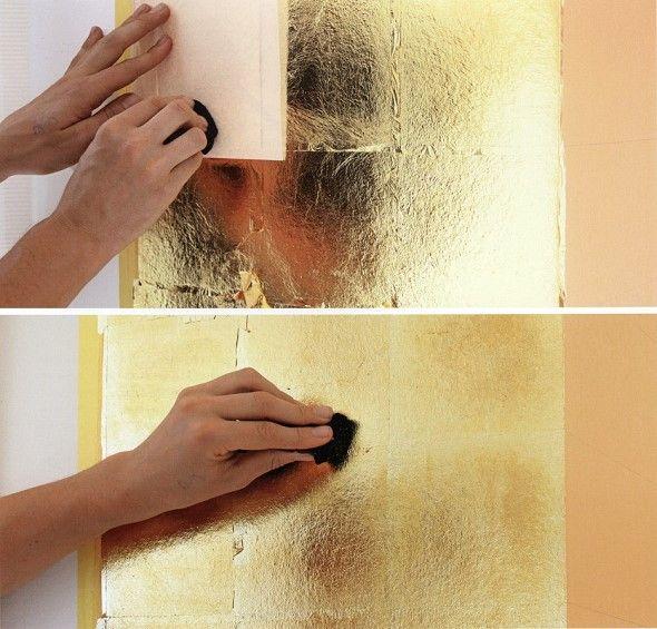 vergolden mit blattgold blattgold blattgold gold und. Black Bedroom Furniture Sets. Home Design Ideas