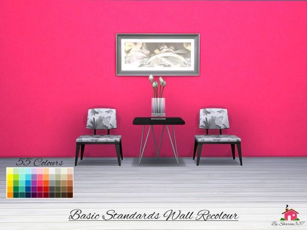 the sims resource basic standards wall recolour by on construction wall structure general info id=40308
